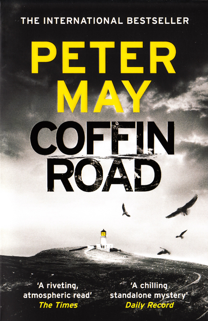 Coffin Road by Peter May book cover