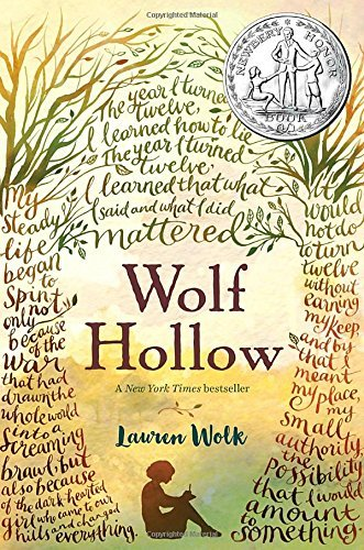 Wolf Hollow by Lauren Wolk book cover
