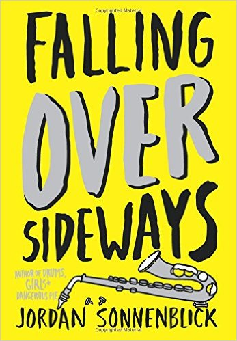 Falling Over Sideways by Jordan Sonnenblick book cover