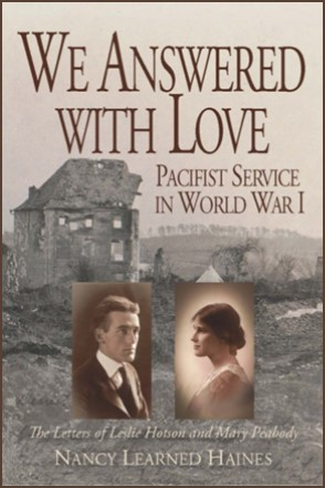 We Answered With Love by Nancy Haines book cover