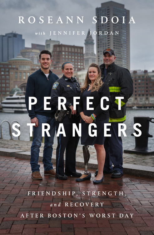 PERFECT STRANGERS by Roseann Sdoia book cover