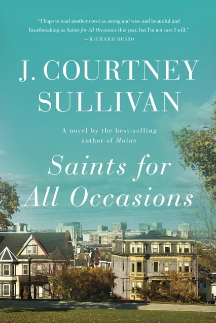 Saints for All Occasions by J Courtney Sullivan book cover